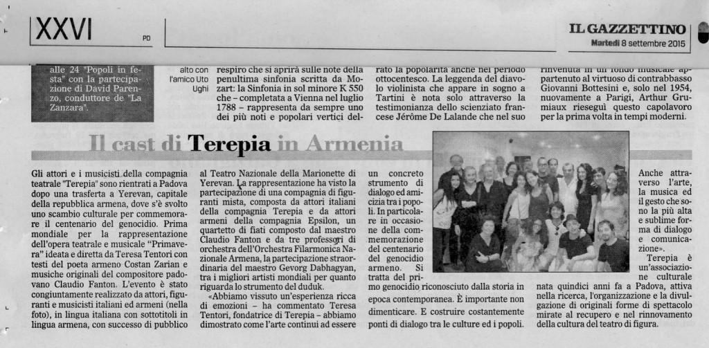 articolo armenia
